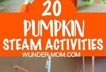 Pumpkin Unit Study / Pumpkin themed learning activities ideal for a pumpkin unit study.