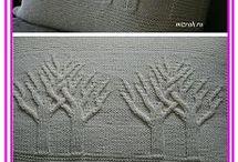 подушки деревья