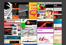 Interfaces Web / Site que produzi, meu trabalhos para internet
