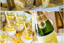 Yellow Themed Bridal Shower