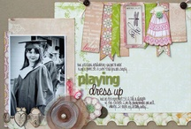 Craft Ideas: Scrapbooking Layouts / by Pru Beyer