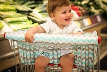 Bambella Designs Trolley Liners / Bambella Designs trolley liners are designed with your baby's comfort in mind. The liner is made from a range of stylish fabrics that are 100% cotton with a comfortable 350 gram density inlay. Trolleys are renowned for carrying a number of germs that can cause ill health for children.   Keep your bub clean and comfy while shopping in one of our gorgeous trolley liners. Order in one of our designer fabrics now at www.bambelladesigns.com.au