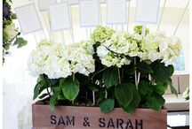Wedding Flowers / Beautiful images of our personalised crates used for wedding flowers