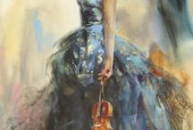 Paintings / by Antoinette McKinnon