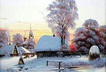 Frumusețea iernii.