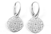 Silver earrings / Silver earrings