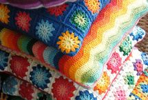 Crochet Me A Pillow / Pillows or Cushions...Squares or Oblong pretties!  / by Rebecca Becker-Davis