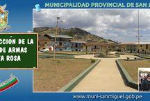 Obras Públicas 2013 / Obras ejecutadas por la Municipalidad Provincial San Miguel año 2013