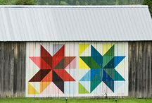 Quilt Block Barns / by Wendy Cohen