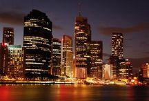 Brisbane Night View