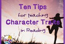 A-Z Library teaching character ideas / by Lynne Daffern