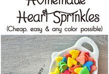 Gelatin sprinkles