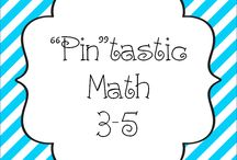 """Pin""tastic Math 3-5 / Pin your Math 3-5 pins here!"