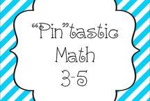 """Pin""tastic Math 3-5 / Pin your Math 3-5 pins here!"