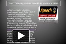IT training institute in Delhi