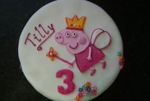 Pepa Pig Party - cake & ideas