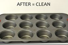 cleaning tips / by Charity James