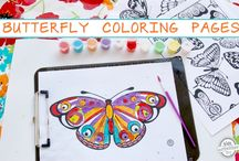 Coloring Pages / by Robin Swanson