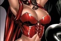 la sorcière rouge ( scarlet witch )