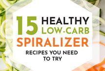 Spiralize veggies