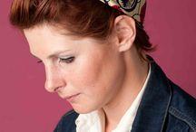 Bandeaux à cheveux & Bandanas / Pimp up your hair !  Découvrez les bandeaux à cheveux et bandans Foudre fabriqués en France #headwear #headband #headwrap #bandeauacheveux #madeinfrance