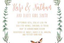 BABY SHOWER INVITES FOR GIRL.