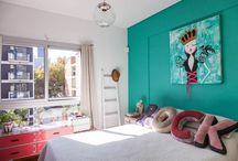 habitaciones juveniles pintura
