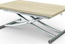 Mesa plegable elevable