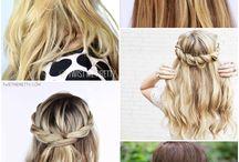 peinados para todo tipo de pelo / para pelo largo, corto, lacio, enrulado, etc
