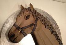 gateau cheval