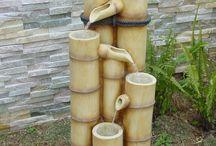 fontaine/jardin