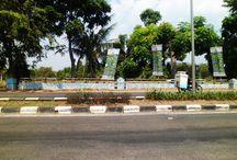mural 23 july 2015 / jembatan kalimalang depan blu plaza bekasi