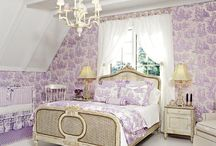 Purple + Toile = Love it! / by Katherine Stang