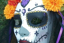 Marvellous masks and day of the dead