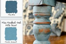 Miss Mustard Seed's Milk Paint / by I Restore Stuff /Sharon