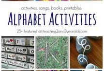 Alphabet Activities / Playful ways to teach preschoolers the ABCs