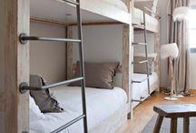bunk rooms.