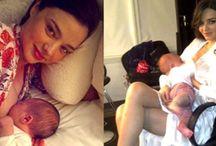 Διάσημες μαμάδες θηλάζουν δημόσια (Celebrities breastfeeding in public)