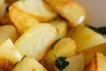 Receitas com batatas .