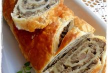 ciasto francuskie nadziewane
