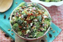 Saladsbroccoli