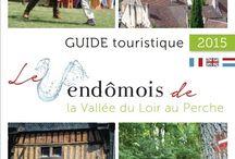 Nos brochures / Retrouvez nos brochures sur le site : http://www.vendome-tourisme.fr/infos-pratiques/office-de-tourisme/nos-brochures