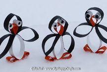 tučňáci a lední medvědi