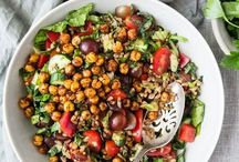 SALADS | Healthy Inspiration / I just love salads. So colorful and Tasty :)