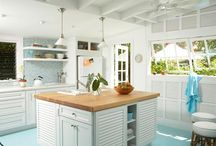 Coastal Decor - Kitchens / This board contains ideas for Coastal Decor in the bedroom.