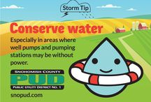 Storm Tips! / How to prepare for and stay safe during major storms. More info at snopud.com/stormprep.