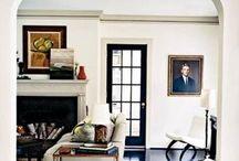 black doors / by Maggie Griffin Design