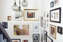 Hall way / Hanging pictures