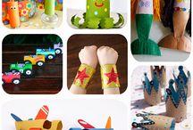 Manualidades infantiles / Manualidades, DIY, reciclaje