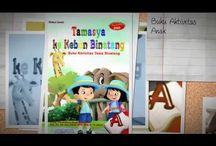 Buku TK PAUD / Kami menyediakan berbagai buku untuk sekolah TK PAUD